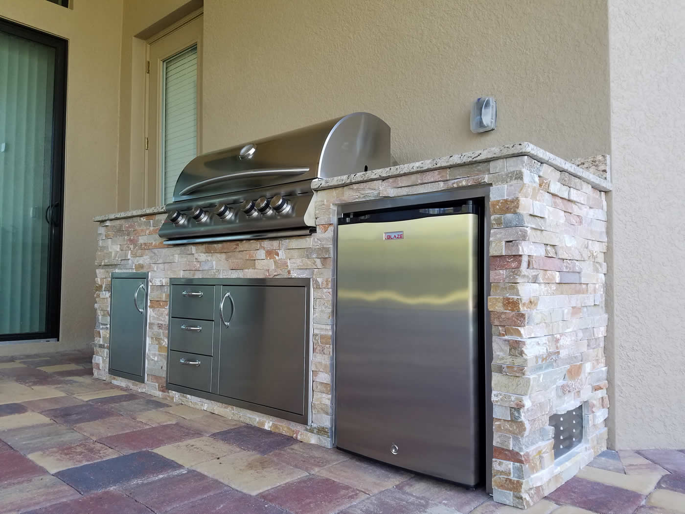 traditional outdoor kitchen design by elegant outdoor kitchens of fort myers florida