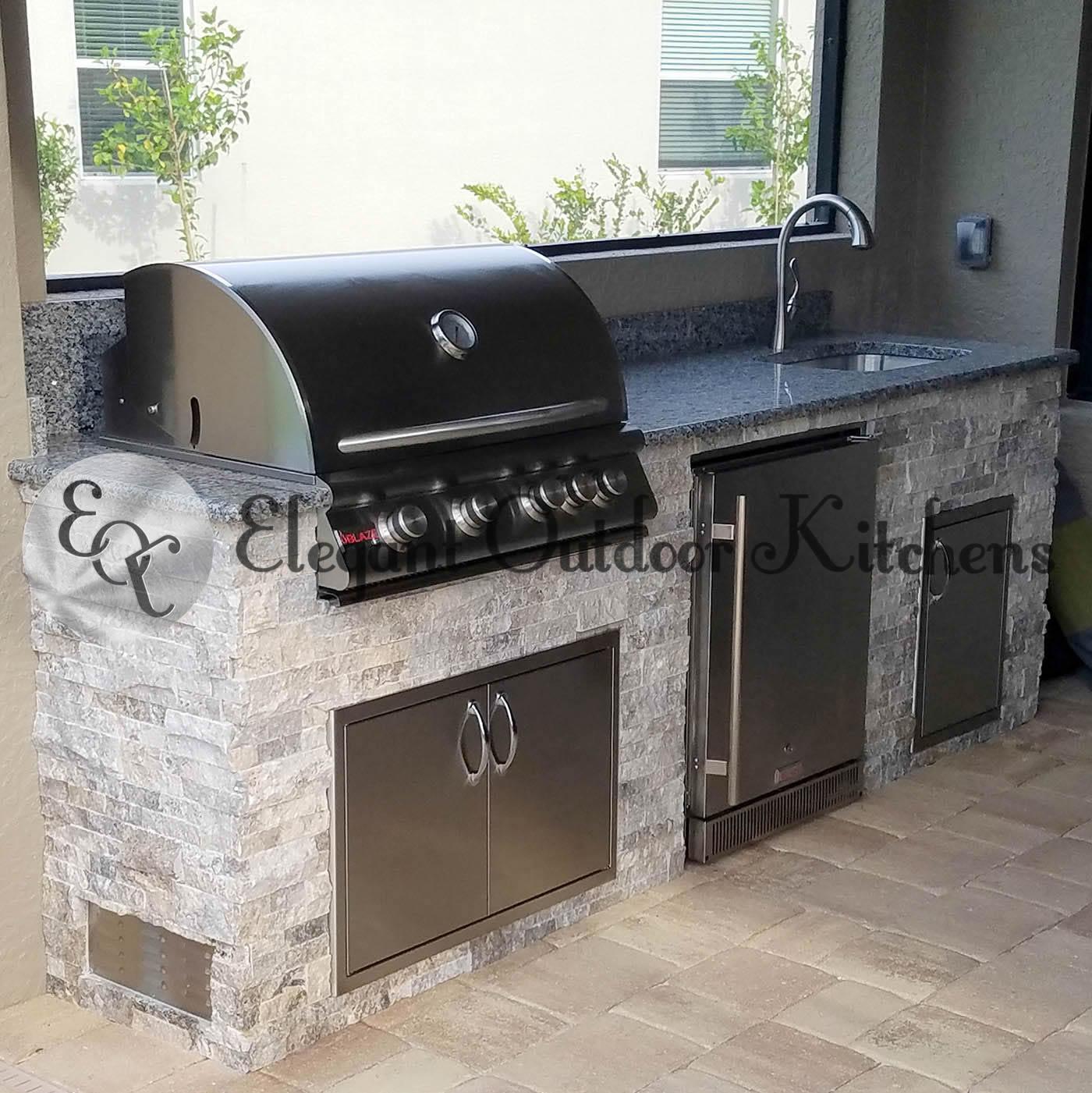Outdoor Kitchen Florida: Outdoor Kitchen BBQ Island