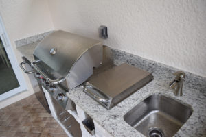 Materita in Pelican Preserve Outdoor Kitchen BBQ Island
