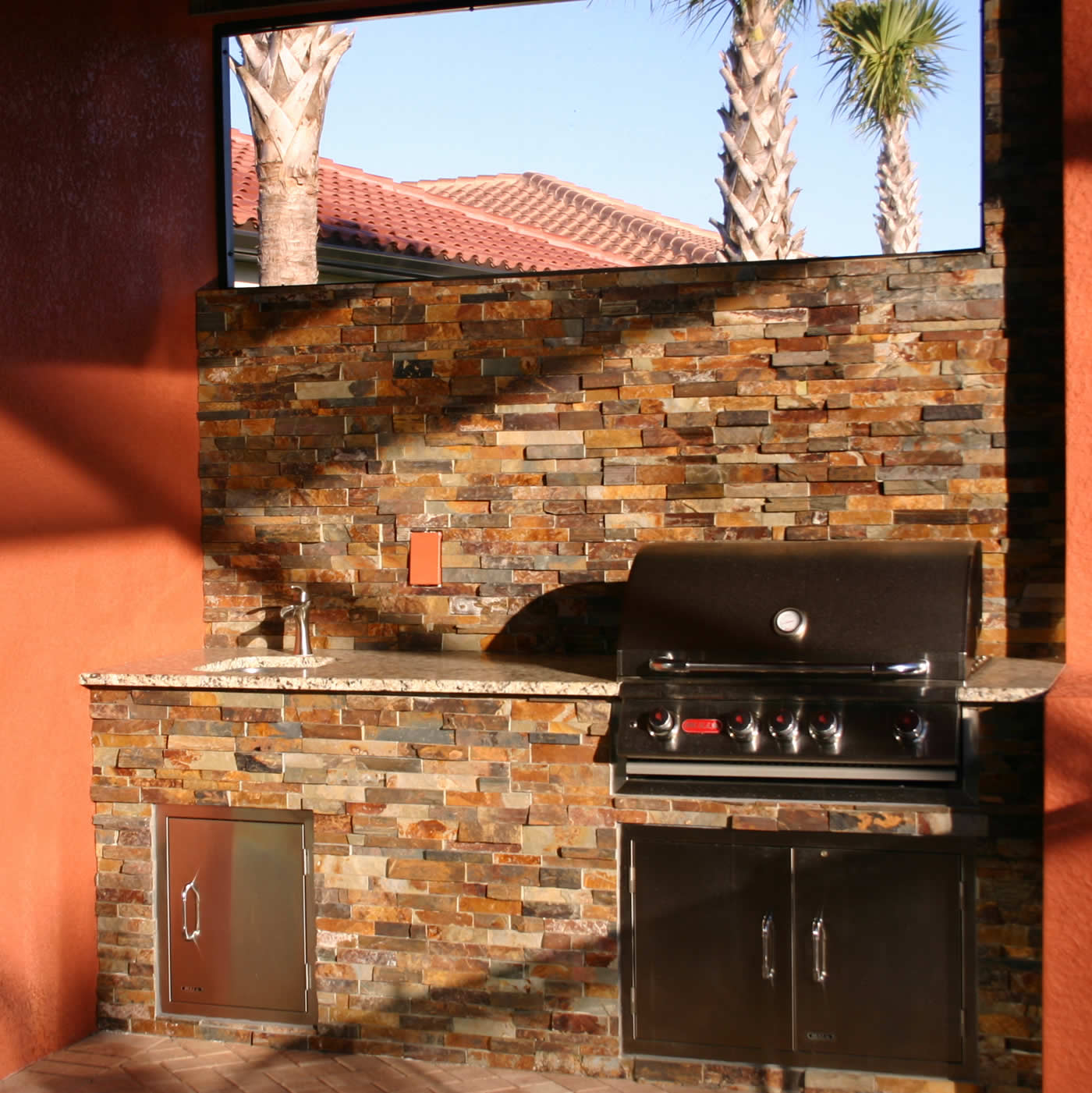Outdoor Kitchen Florida: The Introductory Outdoor Kitchen