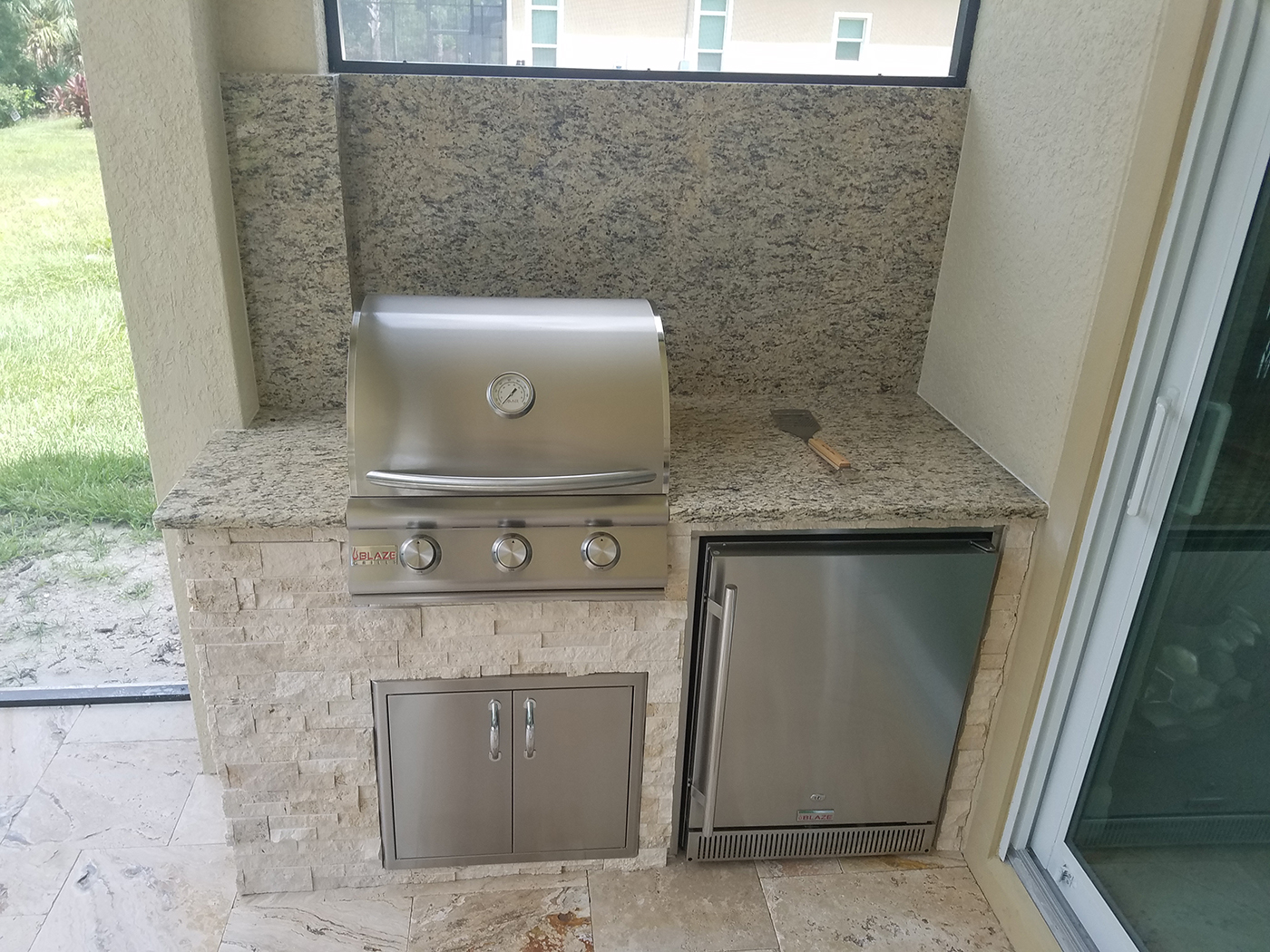 Outdoor Kitchen Door Kit
