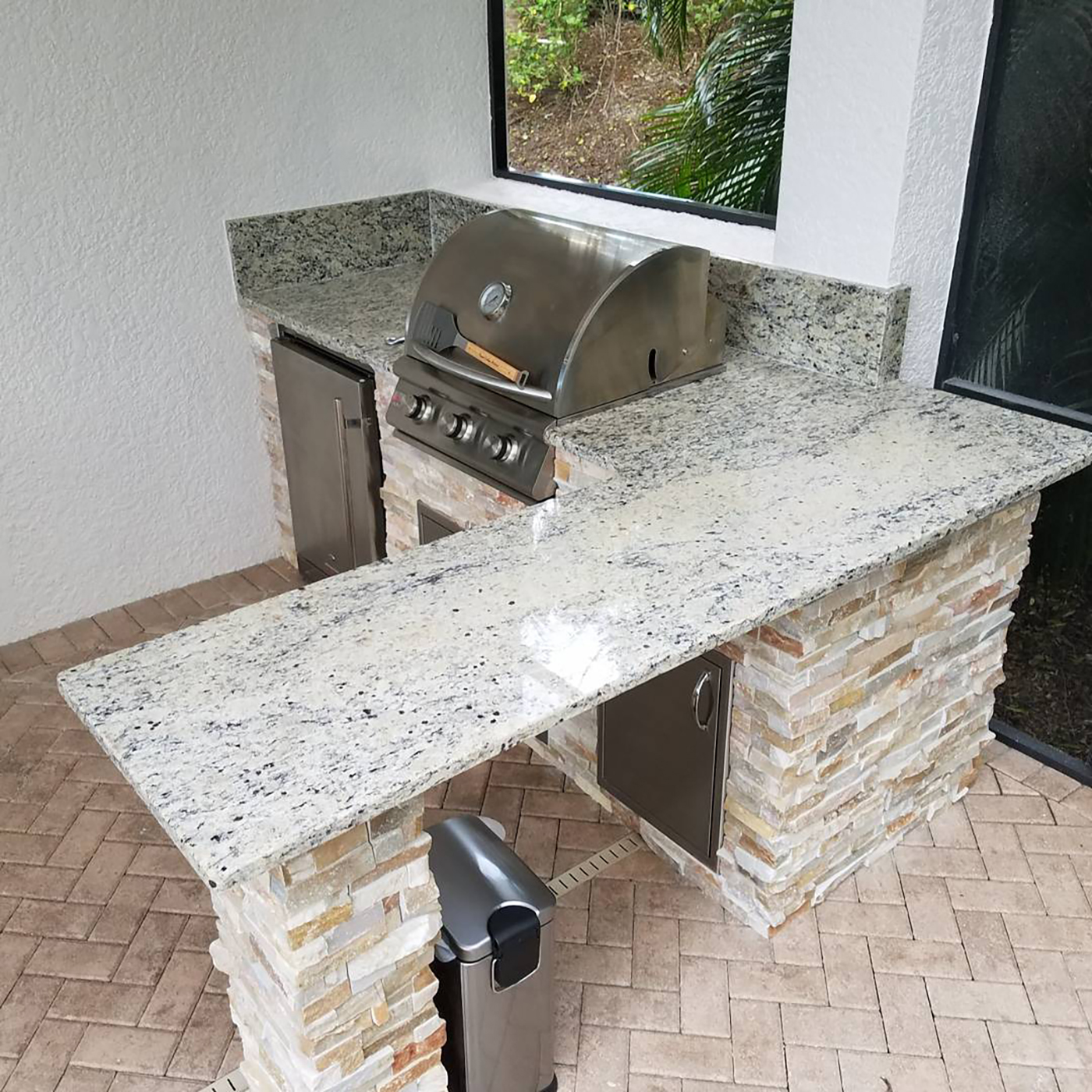 Outdoor Kitchen Construction Archives - Elegant Outdoor Kitchens