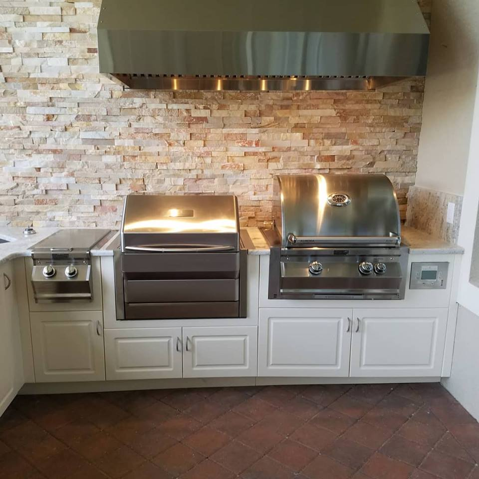 Marine Kitchen Cabinets: The Magnificent Custom Outdoor Kitchen Project